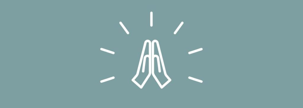 praying hands symbol