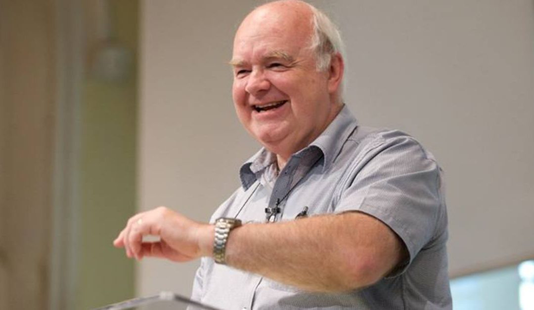 """John Lennox: """"Can the Coronavirus Be Reconciled With the Existence of a Loving God?"""""""